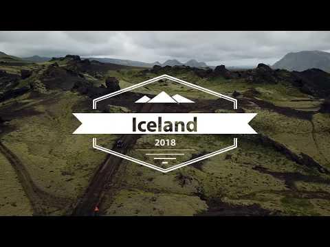 Island mit Landrover Defender
