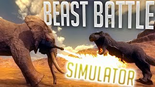 Beast Battle Simulator - Dinosaurs vs Animals - The BEST Battle Simulator? - Beast Battle Gameplay