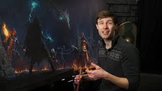 GDC19 Flash Forward: Illustrating Tamriel: Creating Key Art for The Elder Scrolls Online