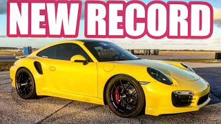 ES Motor 911 Turbo BREAKS stock motor WORLD RECORD @ Wannagofast!