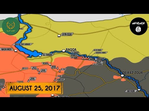 Сирия, последние новости, карта боев в Сирии на сегодня