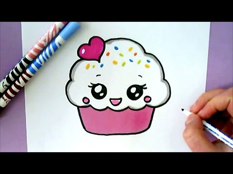 HOW TO DRAW A CUTE CUPCAKE from YouTube · Duration:  2 minutes 5 seconds