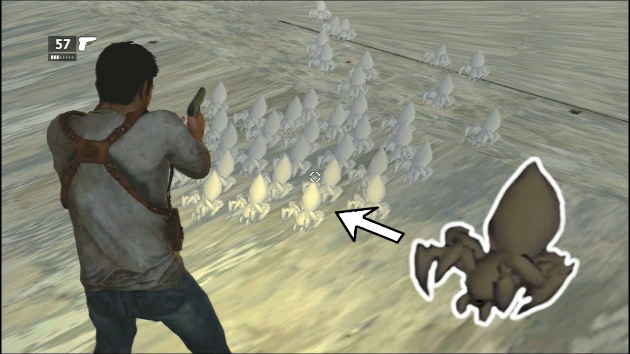Uncharted Drake S Fortune Cut Spider Enemies Youtube