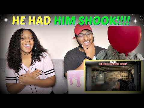"""LT.LICKME """"PENNYWISE VOICE TROLLING ON CALL OF DUTY WW2"""" REACTION!!"""