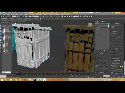 Make a high/low prop, Unwrap it, bake a normal & AO map & Apply to low poly in 3ds max