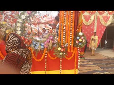 Pt.raghwendra shastri ji..gogri jamalpur khagaria Bihar Bhagwat katha 09.02.2017
