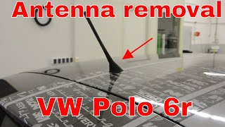 Radio Antenna replacement VW Polo 6r