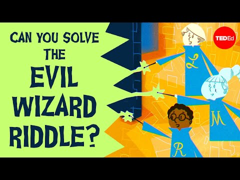 Video image: Can you solve the world's most evil wizard riddle? - Dan Finkel