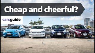 Toyota Yaris vs Mazda 2 vs VW Polo vs Hyundai Accent 2019: city car comparison review