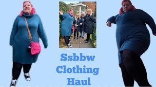 ssbbw Bbw entire outfit sale hawl .. Plus size fashion