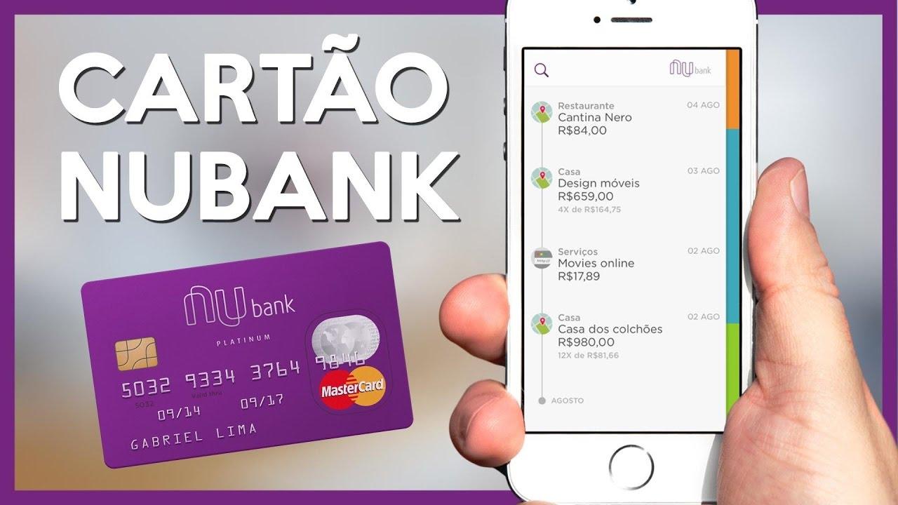 cartão de créditoNubank Processo