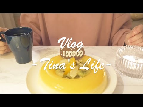sub)make-a-bavarois-in-commemoration-of-100,000-subscribers(vlog)