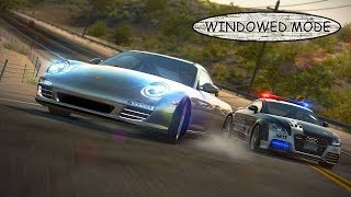 gAMINGHow to play NEED FOR SPEED HOT PURSUIT on windowed mode