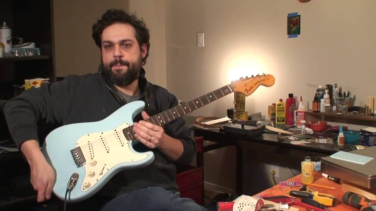 70 s strat gets a trem block and says goodbye youtube