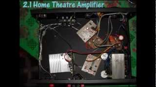 homemade 2.1 amplifier with TDA 7265-short clip