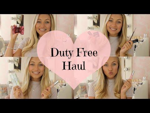 Duty Free High End Beauty Haul | Freddy My Love