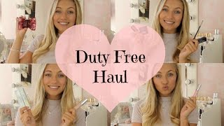 Duty Free High End Beauty Haul | Freddy My Love
