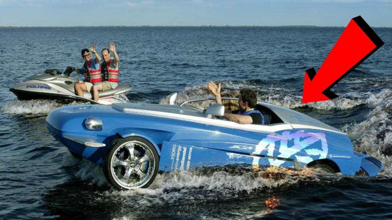 3 Outrageous Amphibious Vehicles That Can Do 50 MPH In Water