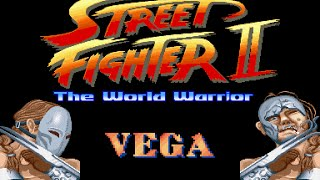 Street Fighter II World Warrior - Vega