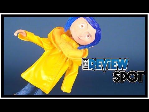 Neca Coraline Rain Coat Version Bendy Fashion Doll Video Review Youtube
