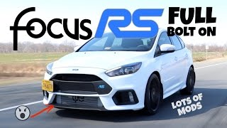 Modded full bolt on focus rs - joyride review & dyno
