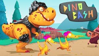 ARMOURED DINOSAURS! - Dino Bash - Ep2 HD