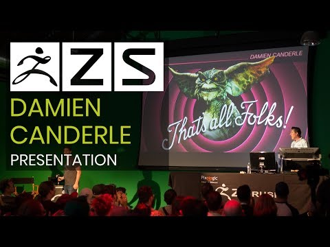 Summit Opening Commentary & Creating Creatures, Concept & Final Render with Damien Canderle