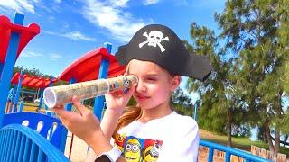 Alicia has a fun adventure looking for pirate treasure by Fun with Alicia
