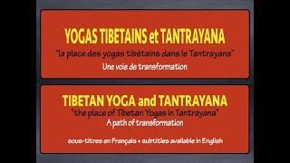Yogas tibétains dans le Tantrayana tibétain / Tibetan yogas in Tantrayana