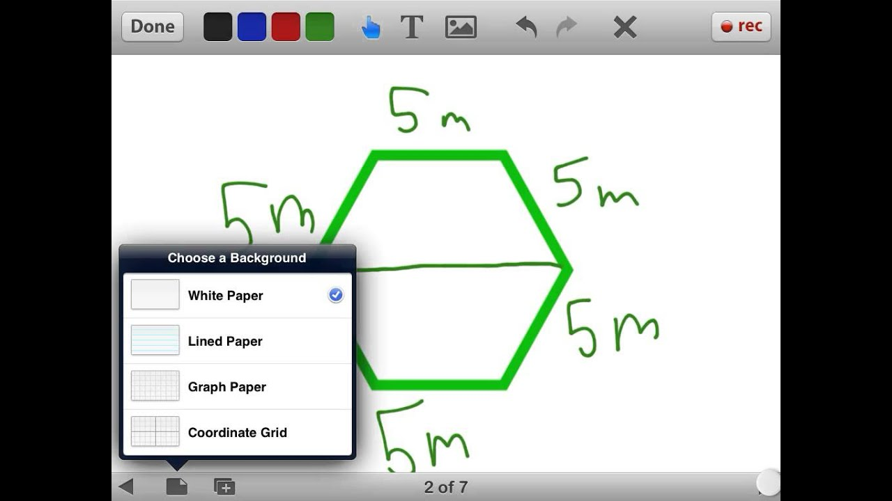 How To Find The Area Of A Hexagon Easily Youtube