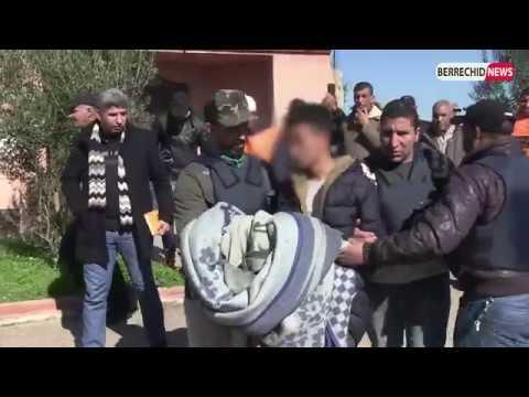 ربورطاج : شاهد فيديو تفاصيل إعادة تمثيل جريمة القتل بحي 9 يوليوز بمدينة برشيد