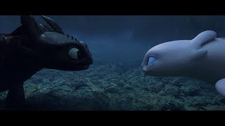 HTTYD The Hidden World Toothless Meets The Light Fury