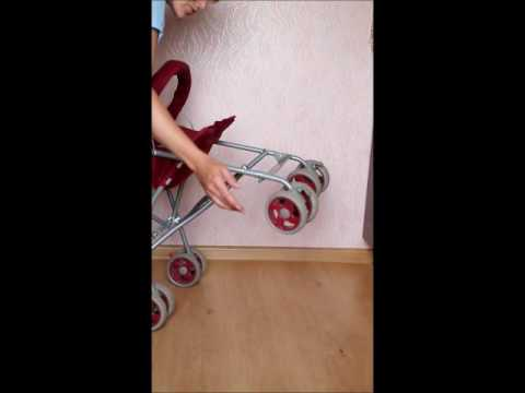 видео коляска коляска трость Babyton St 001