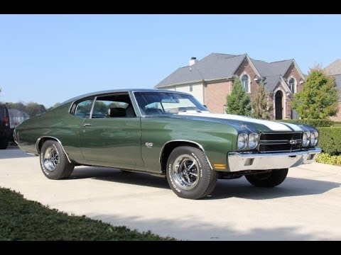1970 Chevrolet Chevelle Test Drive Classic Muscle Car For