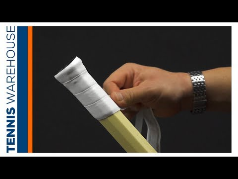 Tennis Tip: How To Install A Replacement Grip