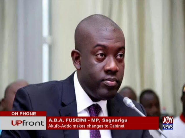 Ministerial Reshuffle – UPfront on JoyNews (9-8-18)