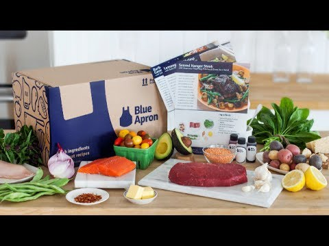 Kitchen Unboxing ~ Blue Apron Meal Kit ~ Noreenu0027s Kitchen