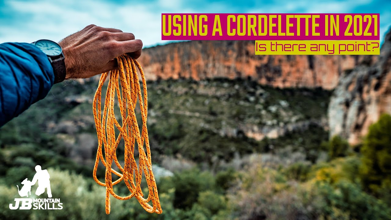 Using a Cordelette Climbing Belay in 2021, Is There Any Point?