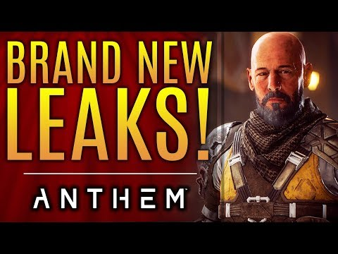 Anthem - New Leaks!  Tons of New Strongholds Rumored and The Long Term Support