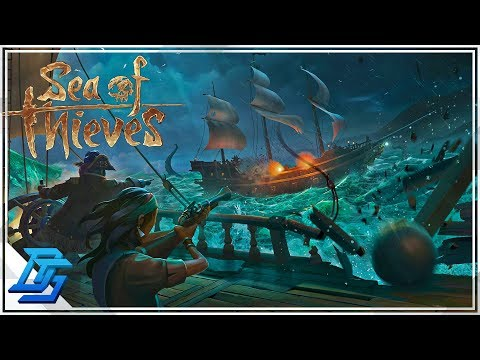 NEW OPEN WORLD MASSIVE MULTIPLAYER PIRATE ACTION GAME - Sea of Thieves Gameplay- Pt.1 (Beta)