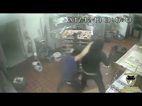 Bakery Worker Can't Quite Get There in Time | Active Self Protection