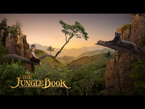 The Jungle Book | Photo Manipulation Speed arts | Photoshop Tutorial