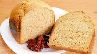 Хлеб с помидорами, сыром и перцем в хлебопечке / Bread machine tomato-peppercorn-cheese bread