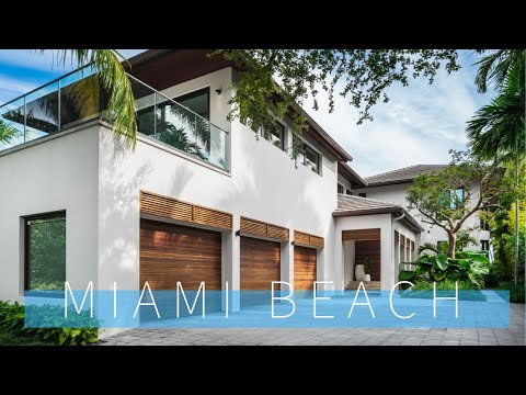 Tour Top Miami Beach Mansions $20 Million Dollar Waterfront Homes