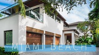 Tour Top Miami Beach Mansions $20 Million Dollar Waterfront Homes