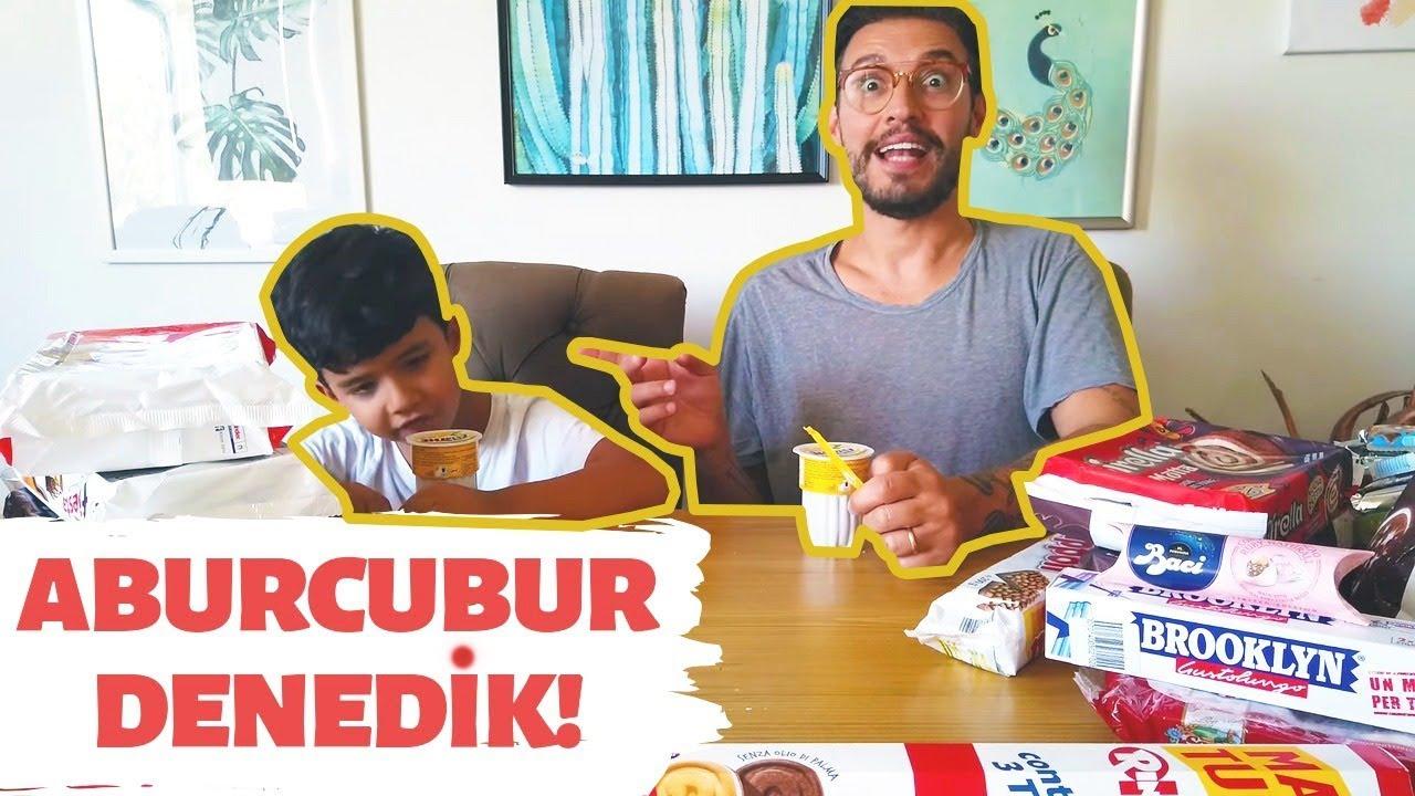 Download İTALYA'DAN ALDIĞIM ABURCUBURLARI OĞLUM ZENO İLE DENEDİK