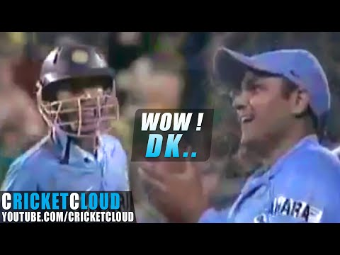 DINESH KARTHIK THE FINISHER - His Forgotten Knock - T20 vs SA 1 Dec 2006 !!