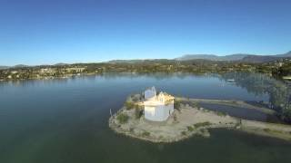 CORFU', ionian island, GREECE 2014 - aerial tour