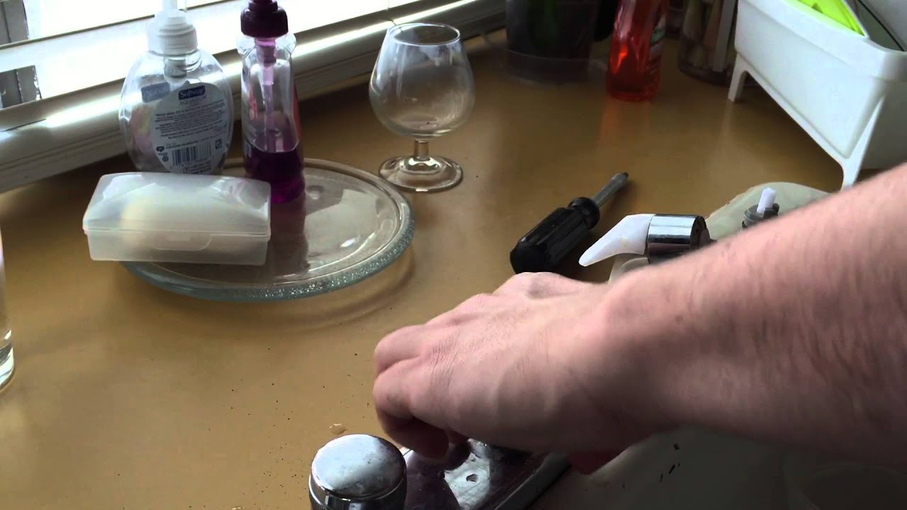 Fix Stem Assembly. Delta faucet leaky and how to easy repair the ...