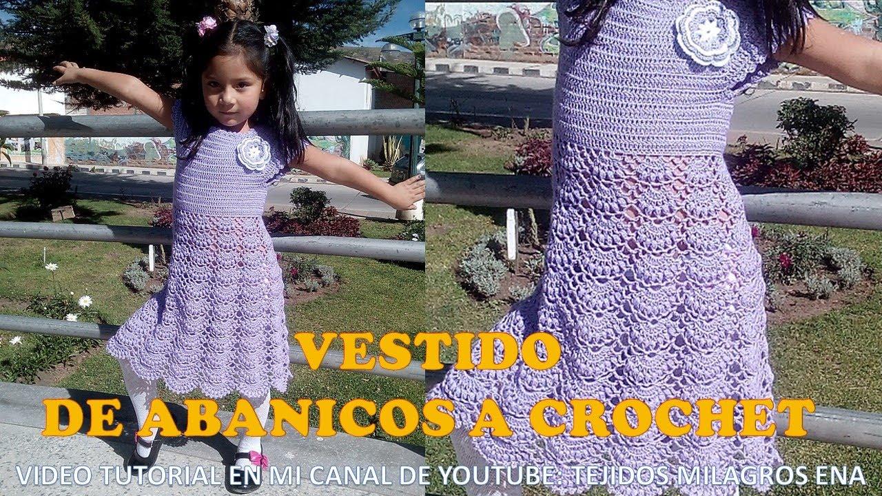 Puntos para tejer vestidos a crochet